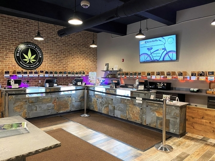 Blair Wellness Center Medical Marijuana Dispensary is located on York Road in the Rosebank neighborhood of Baltimore City. We are located right down the street from the historic Senator Theater and Belvedere Square. We are dedicated to providing the highest quality medical cannabis (MMJ) products and customer service to our patients. The adjacent holistic CBD shop, Pura Vida Wellness, supports patients in a holistic manner through alternative therapies and education. We are comprised of a caring, compassionate staff and we offer a full line of the highest quality cannabis and CBD products available.